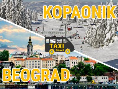 Kombi prevoz putnika Beograd – Kopaonik